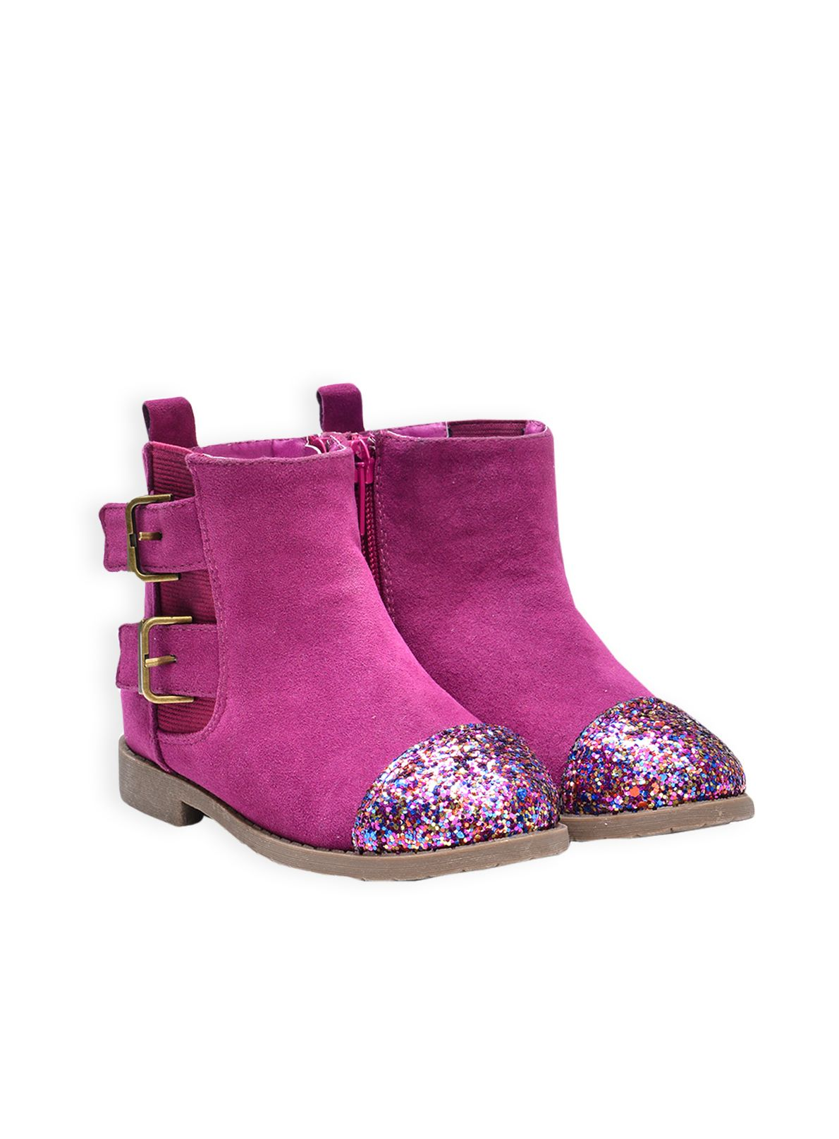 Girls sparkle ankle boot