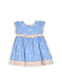 Girls dove print dress