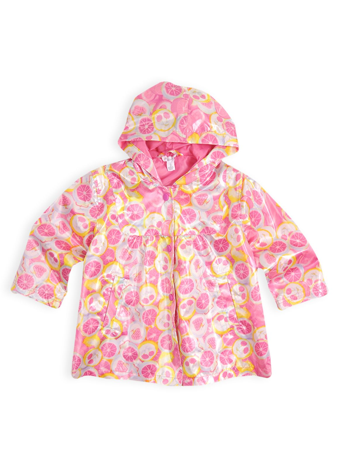 Girls yummy candy pleated raincoat