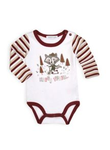 Boys raccoon bodysuit