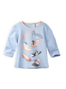 Girls royal shoe top