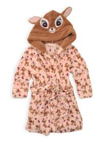 Girls deer hooded dressing gown