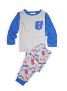 Boys grumpy monsters in the city pj set