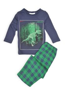 Boys dinosaur pj set
