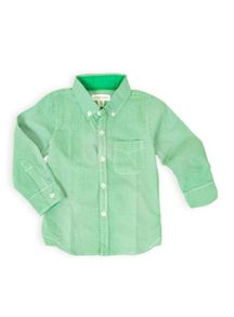 Boys long sleeve check shirt