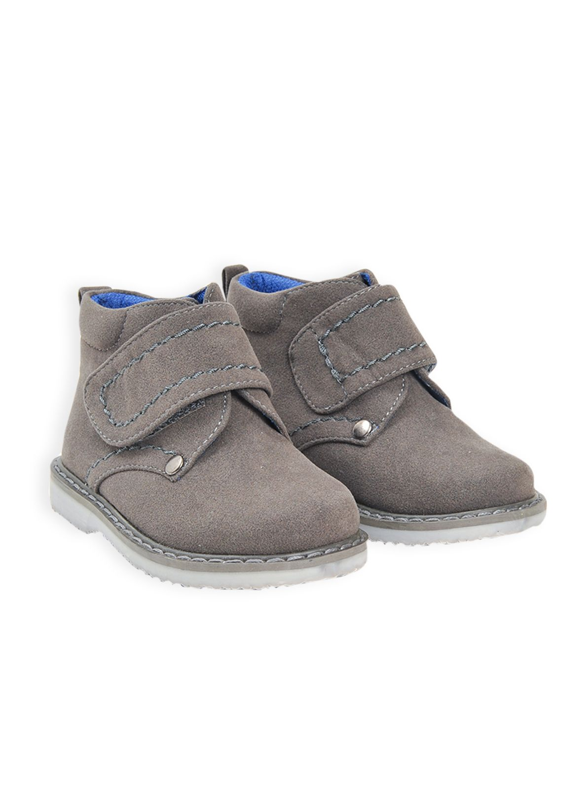 Boys adventure velcro boot