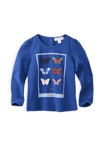 Girls knit butterfly top
