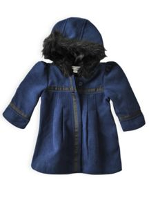 Girls pleated coat