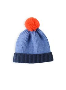 Boys colour block beanie