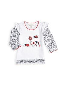 Girls lets play ladybird top