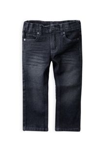 Boys racing wash denim jean