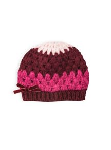 Girls crochet knit beanie