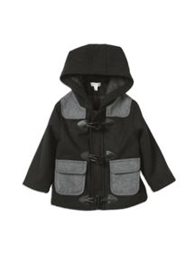 Boys w/s lined duffle coat