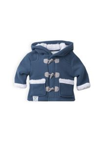 Boys polar fleece duffle coat