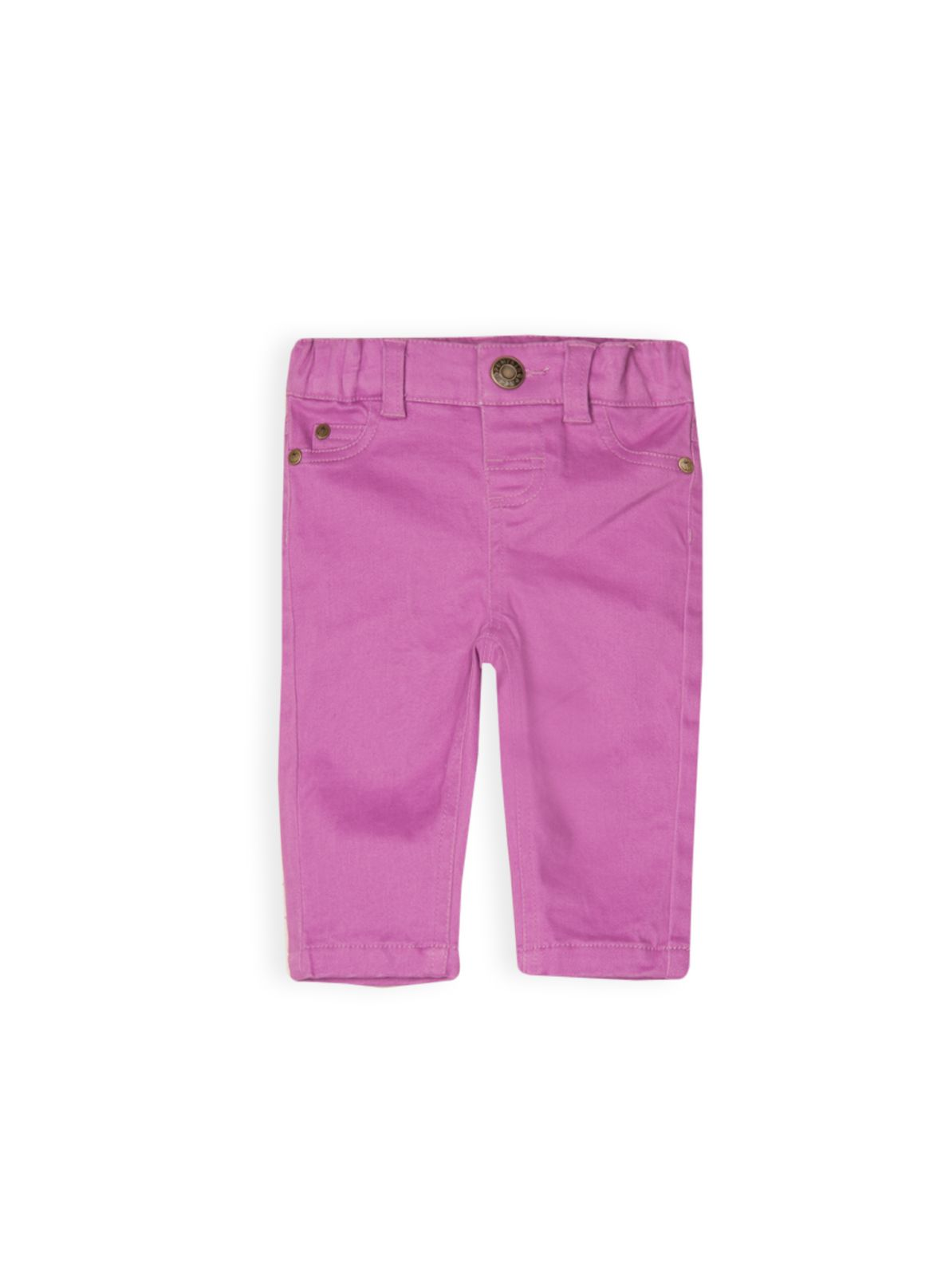 Baby girls peached jeans
