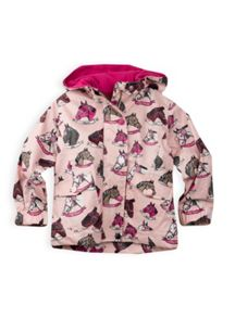 Girls pony print raincoat