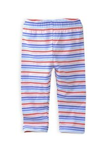 Girls multi stripe 3/4 legging