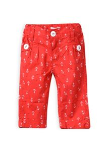 Girls anchor print pants