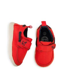 Boys first walker boat shoe