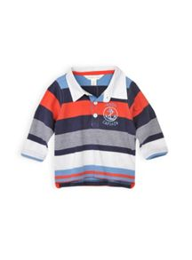 Baby boys stripe polo shirt