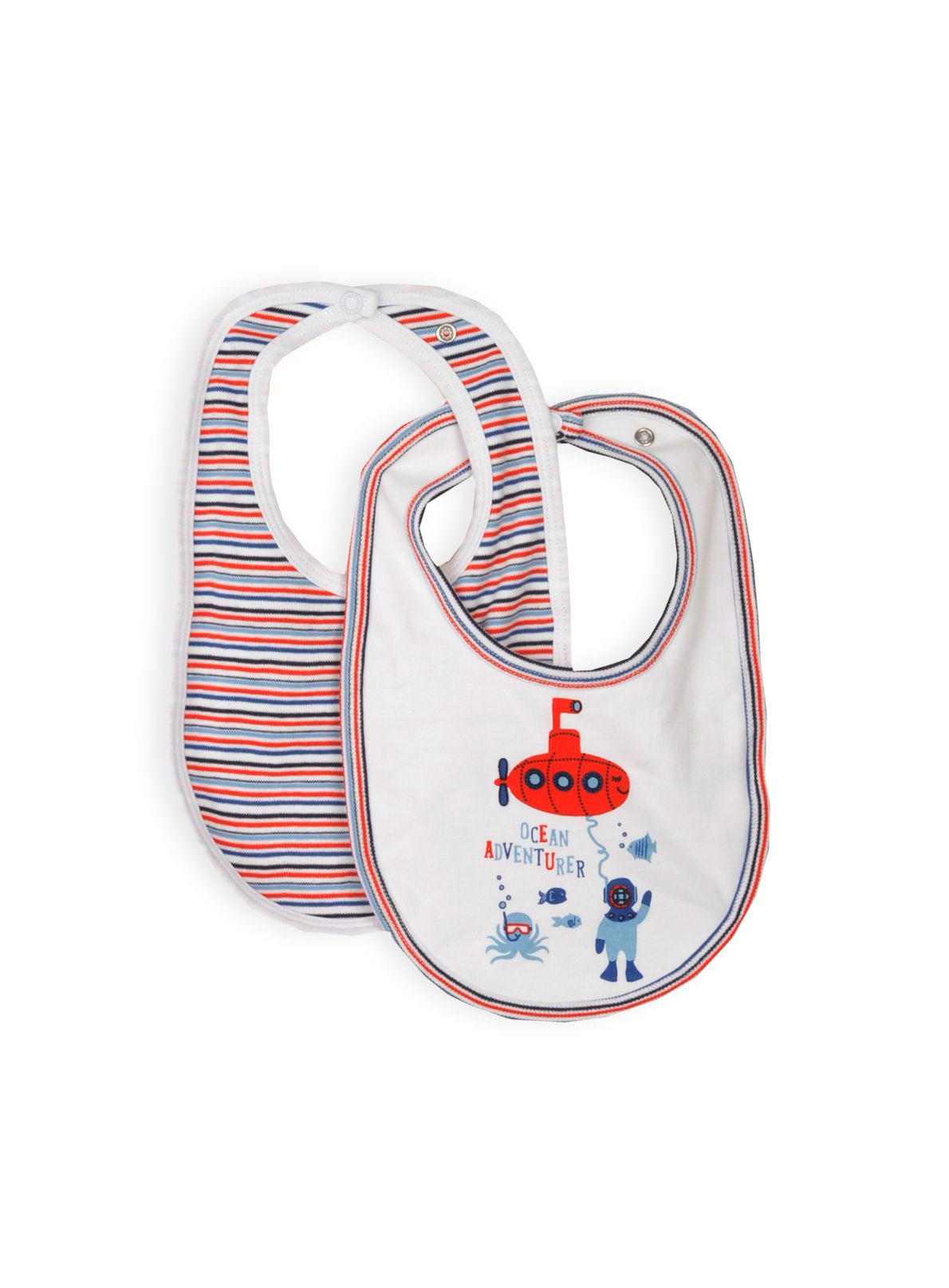 Pumpkin Patch Baby boys 2 pack bibs