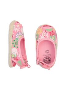 Baby girls peep toe shoe