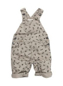 Baby boys croc dungarees