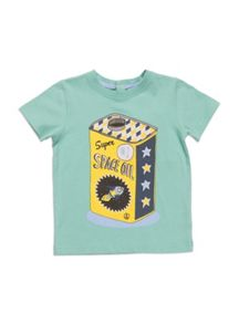 Boys short sleeve tee with print