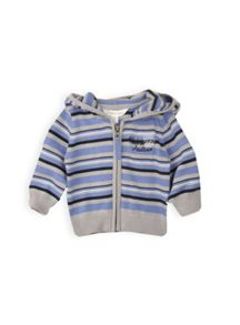 Baby boys striped knit cardi
