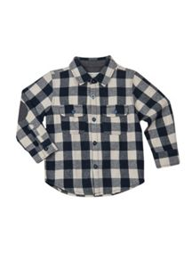 Boys shirt with elbow patches