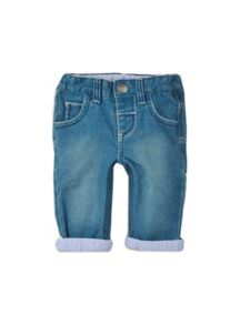 Baby boys soft wash jeans