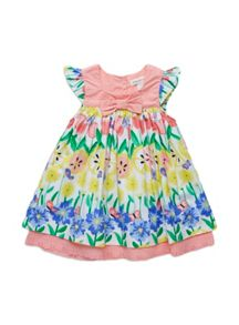 Baby girls fruity print dress