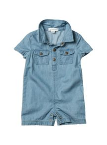Baby boys denim shortie