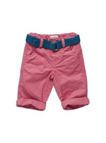 Baby boys belted chinos