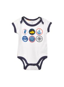 Baby boys applique bodysuit