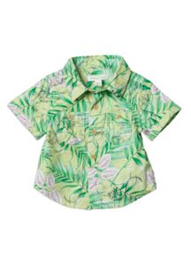 Baby boys jungle print shirt