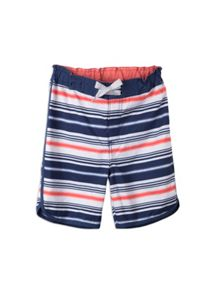 Boys spliced printed boardshorts