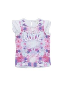 Girls cute print top