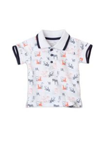 Baby boys aop polo top