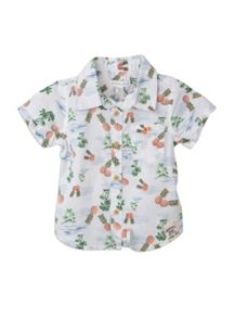 Pumpkin Patch Baby boys printed shirt