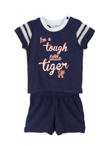 Baby boys tiger set