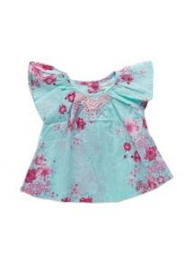 Baby girls crochet floral top