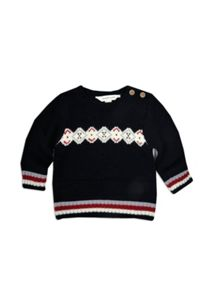 Boys w/s fairisle jumper