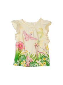 Girls jungle border top