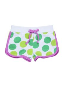 Girls spot sport shorts