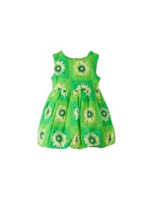 Girls daisy print bubble dress