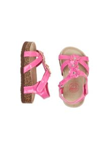 Girls flower boho sandal