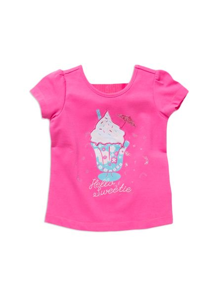 Pumpkin Patch Girls sundae fruit top