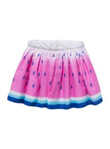 Girls watermelon print skirt