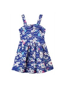 Girls floral sun dress